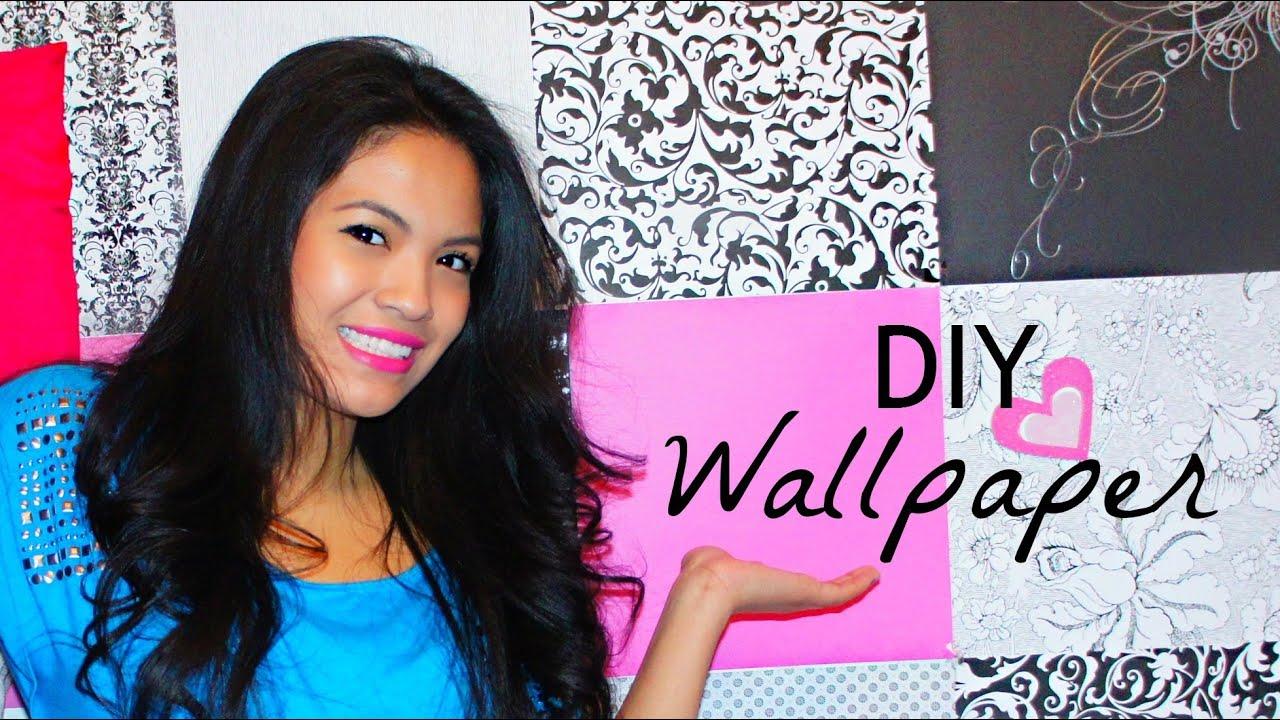 101 cara memasang wallpaper dinding rumah youtube - Cara pasang wallpaper ...