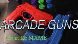 ArcadeGuns - Dual Arcade Guns PC Light Gun Kit used with MAME