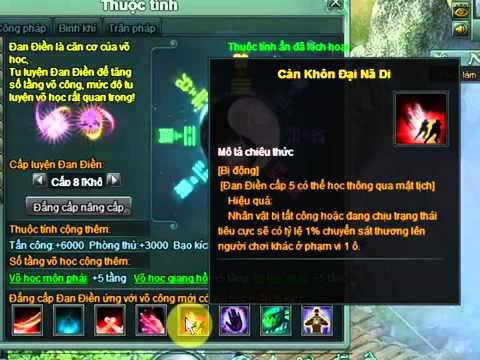 Full Đan Điền Vlcm l Vo Lam Chi Mong Viet Nam