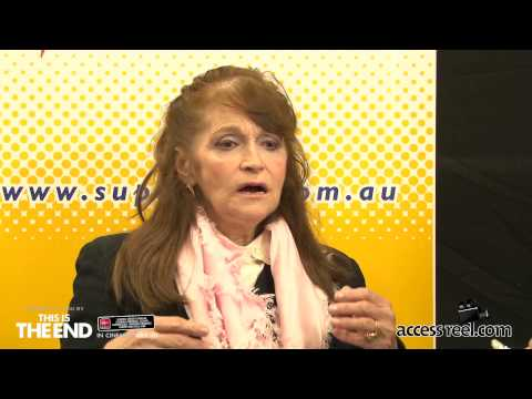 Supanova Perth 2013 Vlog 9   Margot Kidder