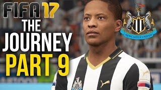 FIFA 17 THE JOURNEY Gameplay Walkthrough Part 9 - NEWCASTLE VS SPURS  (Newcastle) #Fifa17