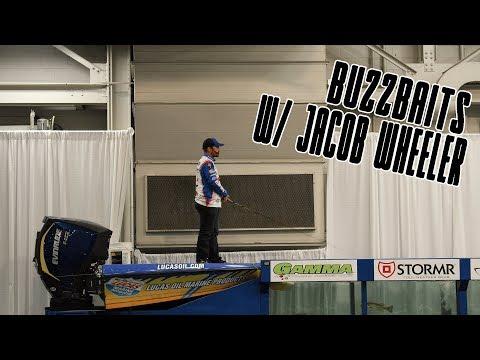 How to Fish a Buzzbait - Jacob Wheeler Seminar
