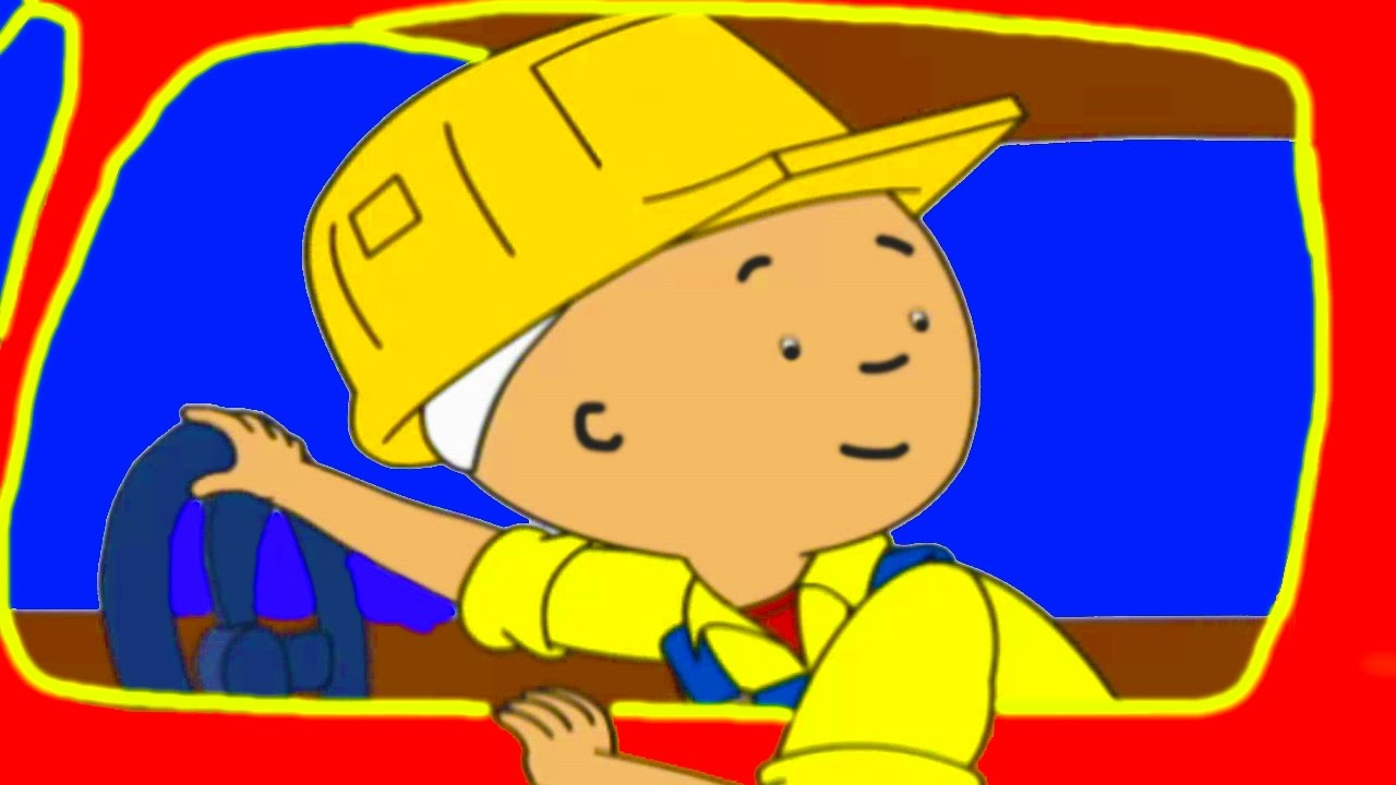 Funny Animated cartoon for Kids  Cartoon Caillou