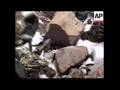 Investigators find frozen bodies in 30 year old plane crash