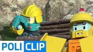 Back off!! Poke!   Robocar Poli Rescue Clips