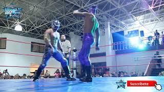 Laredo Kid vs Dragón Bane mano a mano en MDA-SÚPERX-LUCHA UNO     HIGHLIGHTS