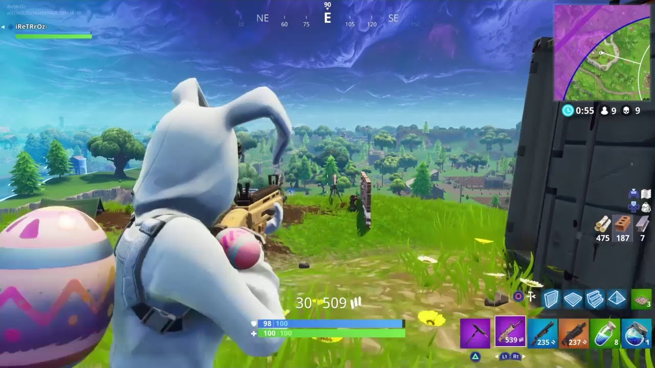 13 kill solo gameplay with the new bunny brawler fortnite battle royal youtube - Fortnite bunny brawler ...