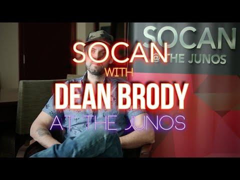 Dean Brody - SOCAN at the JUNOs