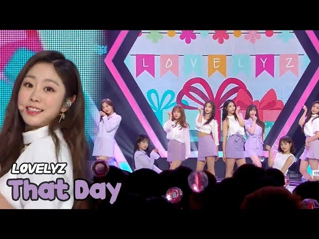 [HOT] LOVELYZ - That Day, 러블리즈 - 그날의 너 Show Music core 20180519