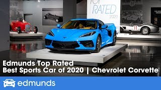 2020 Chevrolet Corvette Stingray: The Best Sports Car | Edmunds Top Rated 2020