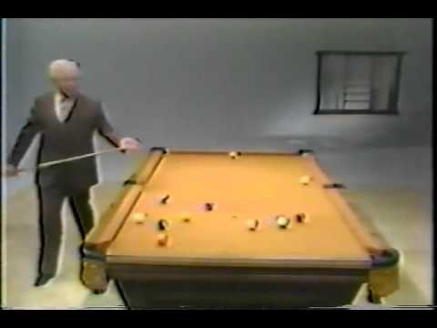 Willie Mosconi Straight Pool Break Shots YouTube - Mosconi pool table