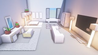 Minecraft: Modern Bedroom Build Tutorial