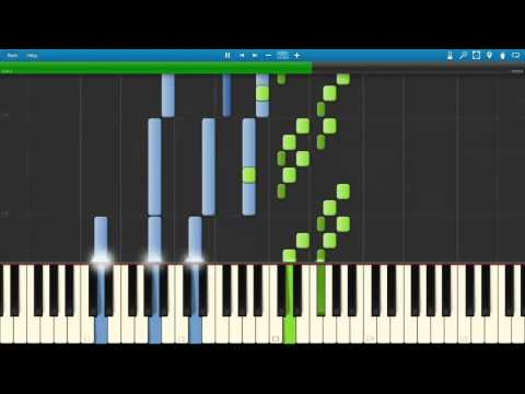 Run | in a Time Lapse - Ludovico Einaudi ( MIDI / Synthesia / Tutorial )