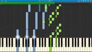 Run | in a Time Lapse - Ludovico Einaudi ( MIDI / Synthesia / Tutorial )