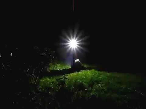 Взрыв ртутной лампы ДРШ