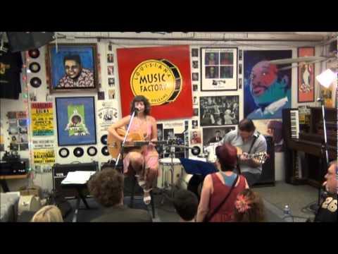 Sarah Quintana @ Louisiana Music Factory JazzFest 2012