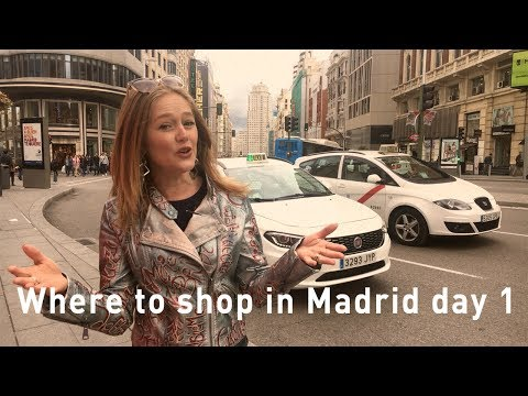 Shopping Madrid 2017 - Where to shop in Madrid - High street shopping - Gran Via