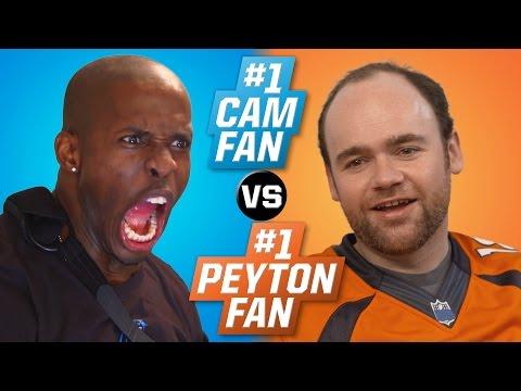 #1 Cam Newton Fan vs. #1 Peyton Manning Fan