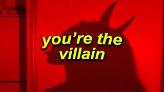 a playlist that will make you feel like you're the Villain