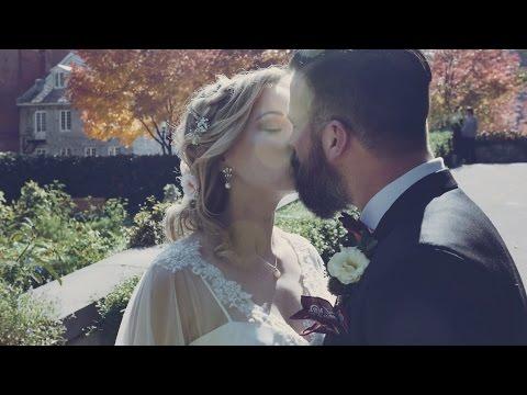 Vintage Inspired Garden Wedding in Montreal | Cindy & Alex