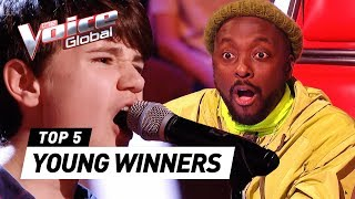 INCREDIBLE YOUNG WINNERS in The Voice Kids