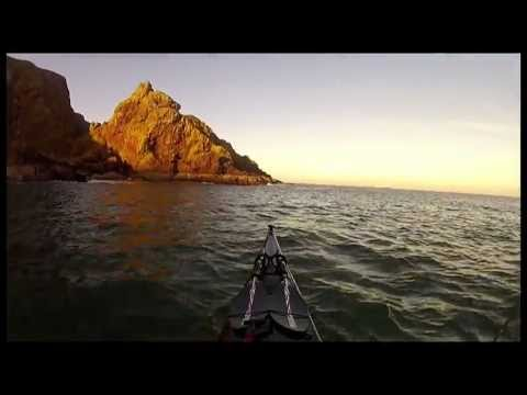 Sea Kayaking at St Abbs Scotland 15/01/12