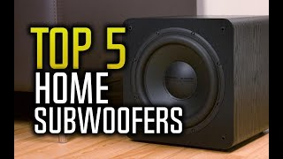 ▶️ Best Subwoofers in 2017!