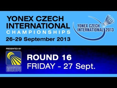 R16 - WS - Pai Yu Po vs Cheng Chi Ya - 2013 Yonex Czech International