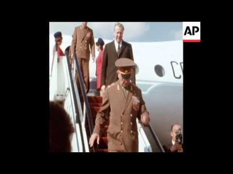 SYND 19-2-72 GRECHKO ARRIVES IN CAIRO FOR A VISIT