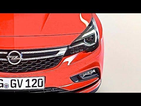 2016 Opel Astra LED Matrix test