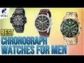 10 Best Chronograph Watches For Men 2018