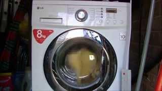lg direct drive f1222td washing machine no spin test