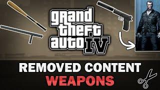GTA IV Beta Weapons [Analysis]