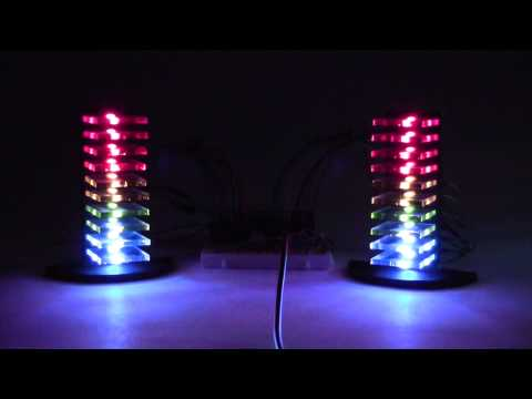 Mini LED Volume Towers (VU Meters)