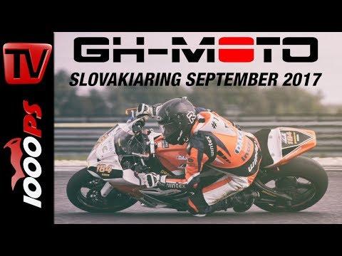 Faszination Rennstrecke und Hobbyracing mit dem Motorrad | Besuch bei GH-Moto am Slovakiaring