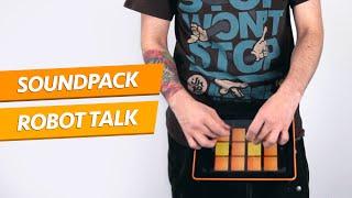 robot talk dubstep drum pads 24
