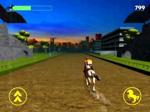 3d Horse Jumping Simulator - Free Horse Smartphone Game