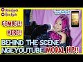 - BEHIND THE SCENE NGEYOUTUBE MODAL HP!!   Riri Fajrh