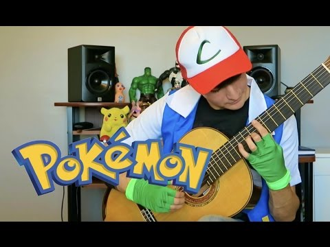 Pokemon Theme Song - Classical Guitar Cover (Tabs + Sheet Music)