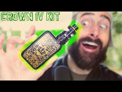 One Of My Favorite Vape Mods! UWELL Crown IV Checkmate Kit!