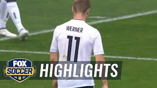 Timo Werner scores his second for Germany | 2017 FIFA Confederations Cup Highlights