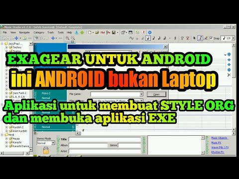 CARA INSTAL Aplikasi Untuk Membuat Set,style Di Android/EXAGEAR EMULATOR ANDROID