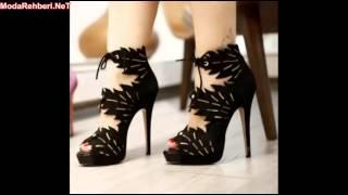 Platform topuklu ayakkabı modelleri 2019 - 2020