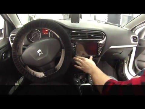 Peugeot 301 Navigasyon DVD Multimedya Sistemi Uygulaması