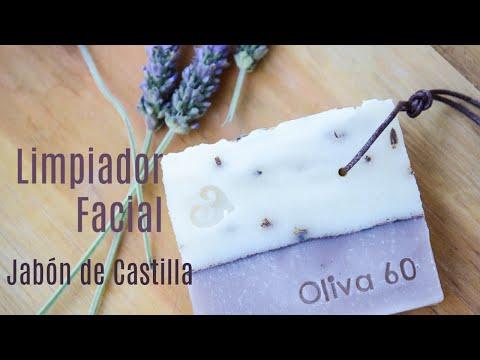 Limpiador facial con jabón de Castilla