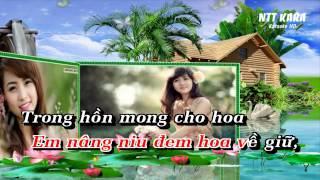 [Karaoke] Nụ Hồng Mong Manh - Lương Bích Hữu (full beat)