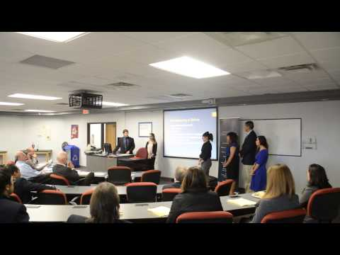 Trampolines Help ENMU Business Team Win Ethics Competition