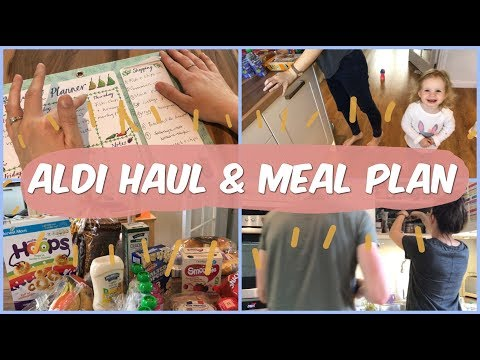 Aldi Grocery Haul and Meal Plan!
