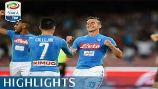Napoli - Milan - 4-2  - Highlights - Giornata 2 - Serie A TIM 2016/17