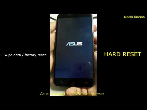 Asus Fonepad 7 FE375CL Recovery Mode Videos - Waoweo
